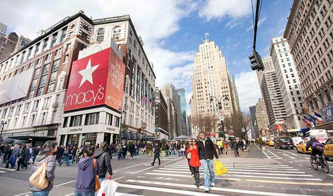 Macy's y Manhattan Mall
