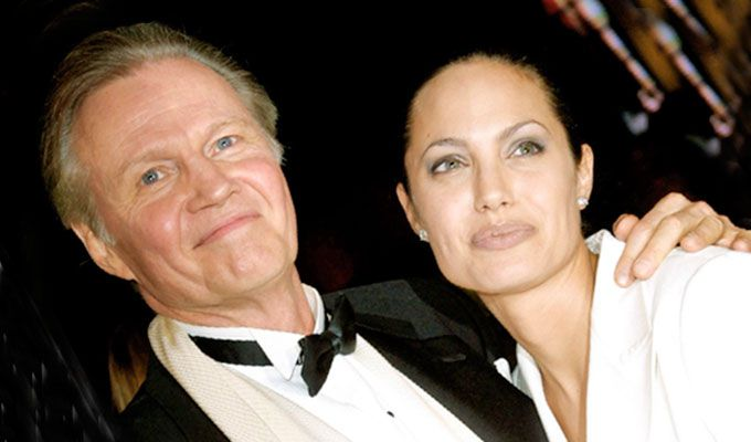 Angelina Jolie y Jon Voight