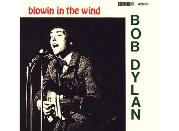 'Blowing in the Wind' (1962)