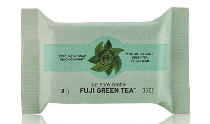 Jabón Exfoliante Fuji Green Tea de The Body Shop