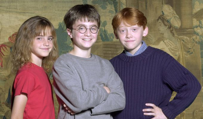 1. Harry, Ron y Hermione