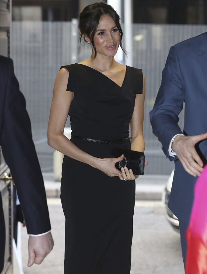 Meghan con 'little black dress'