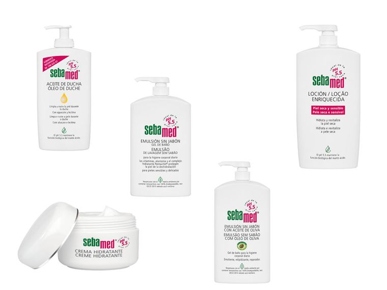 Pack corporal Sebamed