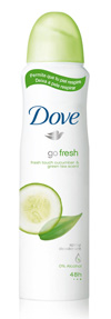 Dove go fresh