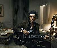Louis Vuitton y Keith Richards