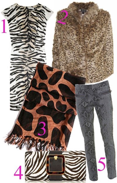 eShopping Tendencias de temporada: print animal