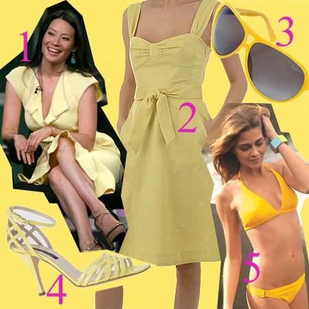 eShopping: amarillo, el color de moda