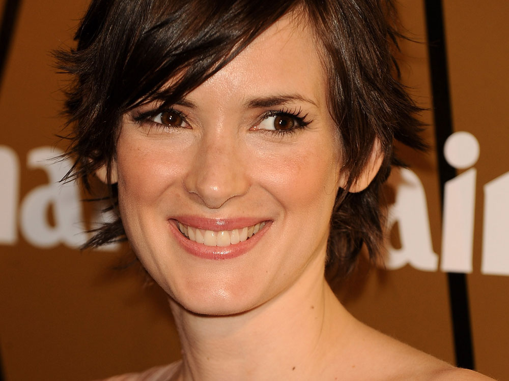 Winona Ryder, Madrina Prix Marie Claire