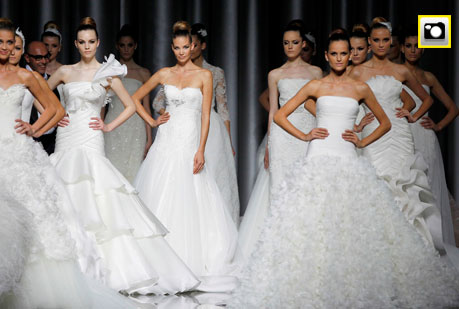 Barcelona Bridal Week 2011: Pronovias