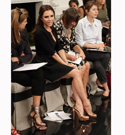 Front Row New York Fashion Week