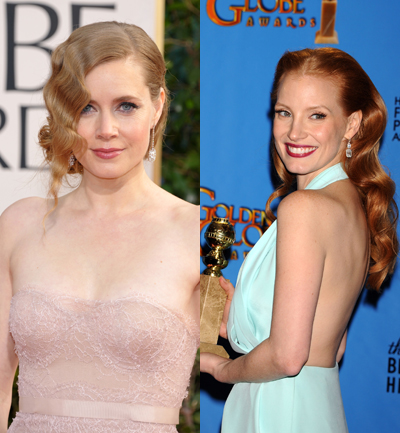 Amy Adams Vs. Jessica Chastain