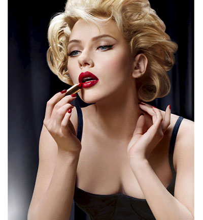 Celebrities con look Marilyn Monroe