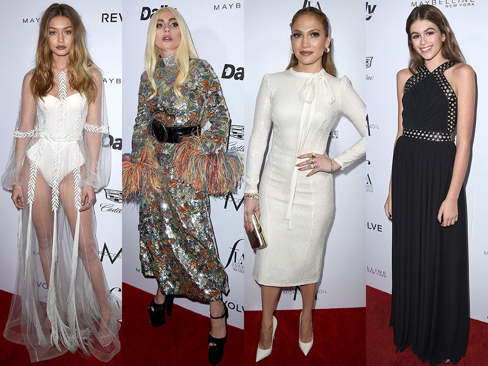 Gala Daily Front Row fashion
