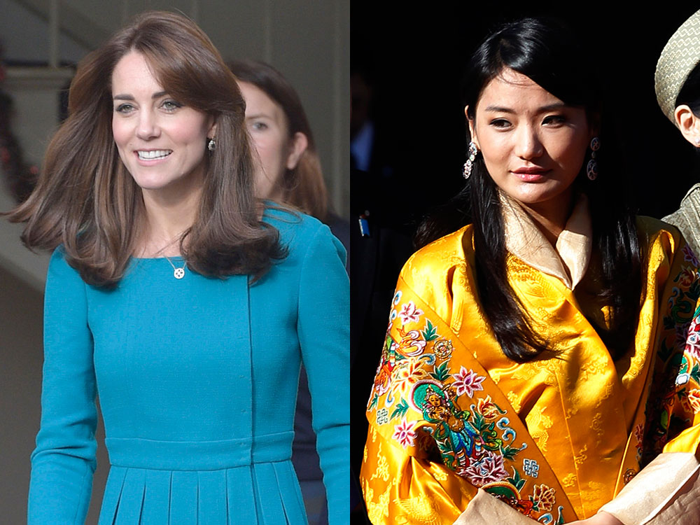 Kate Middleton y Jetsun Pema