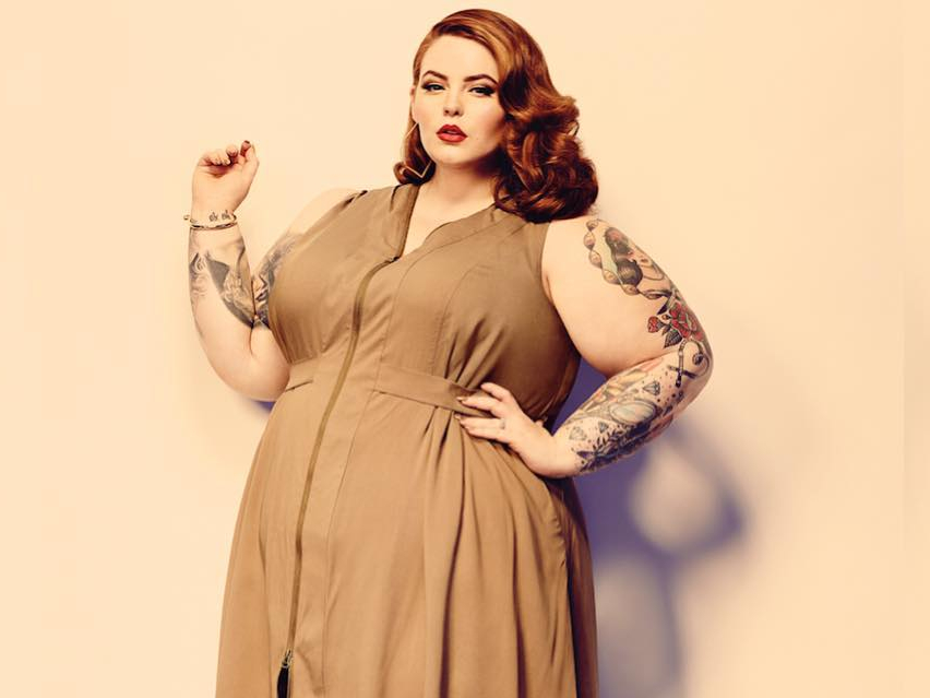 Facebook censura a Tess Holliday, la modelo plus size