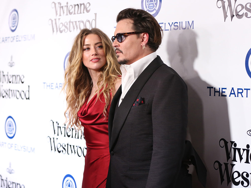 Amber Heard pide el divorcio a Johnny Depp