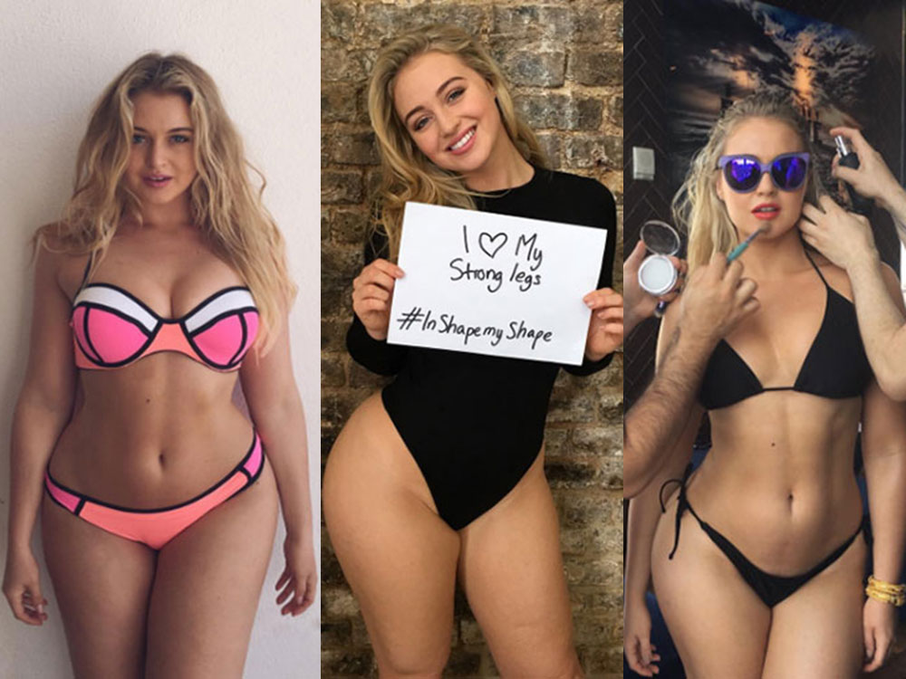 Conoce a Iskra Lawrence, la modelo anti Photoshop