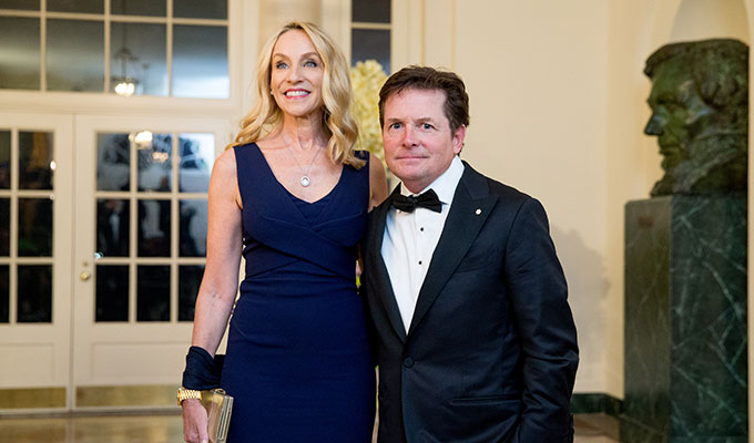 Michael J. Fox y Tracy Pollan