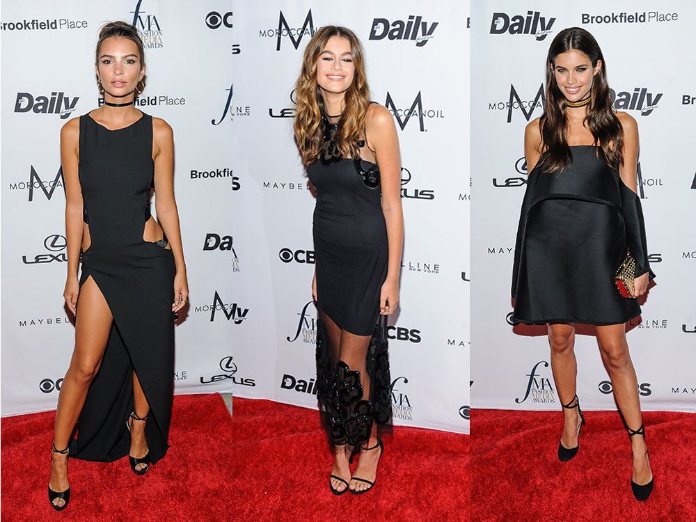 Todos los looks de la Annual Fashion Media Awards