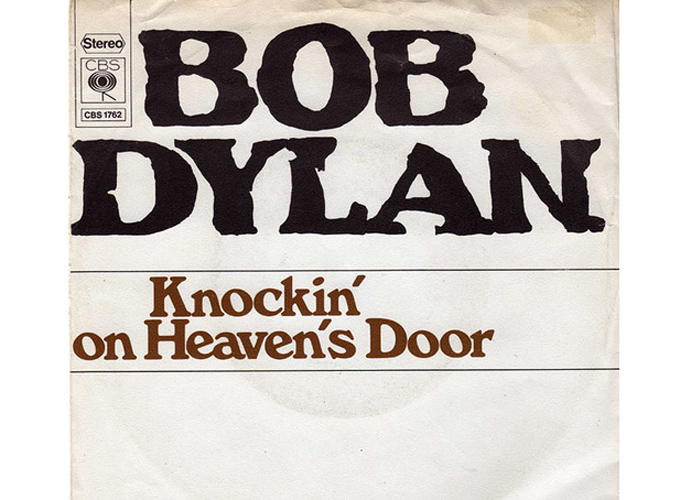 'Knockin' on heaven's door' (1973)