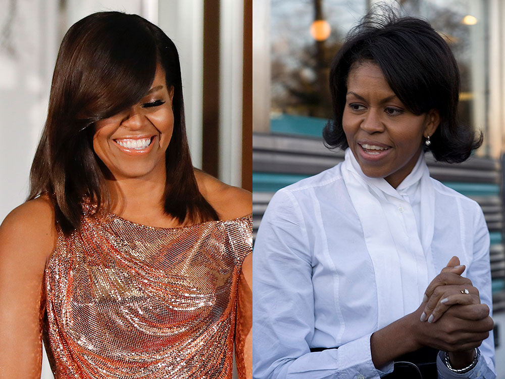 Michelle Obama y su transformación beauty