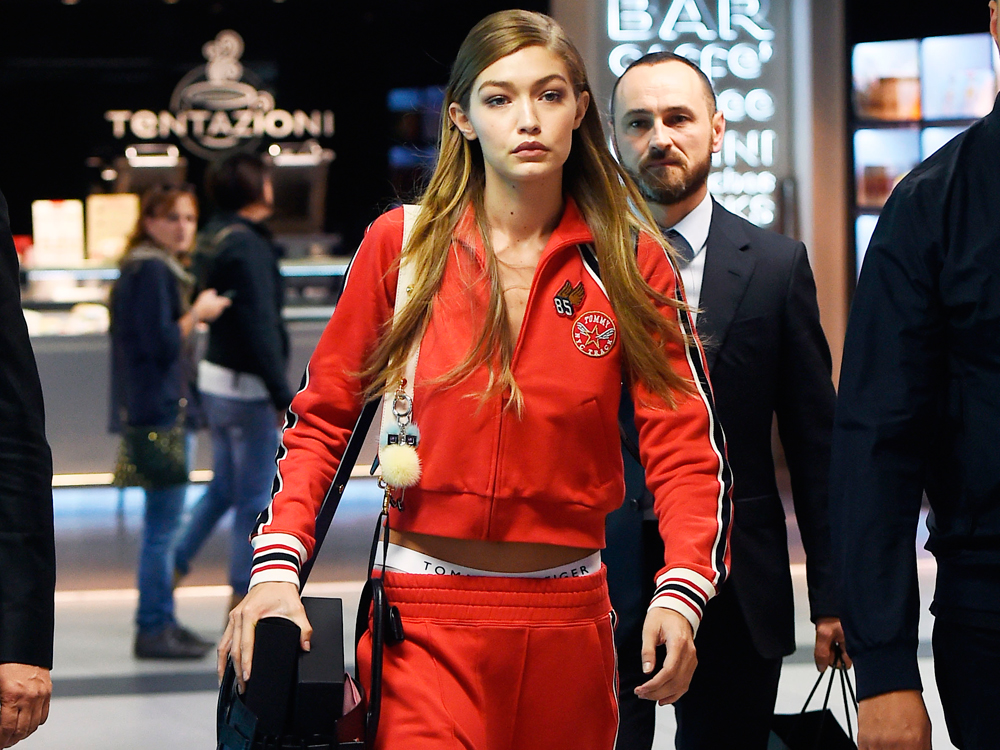 Apúntate al look 'sporty' de Gigi Hadid