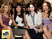 Celebrities en New York Fashion Week
