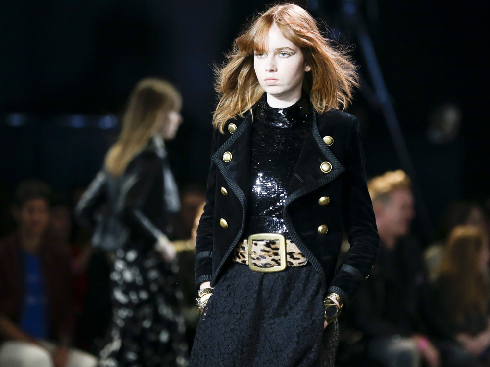Saint Laurent arrasa en el arranque de la moda de New York