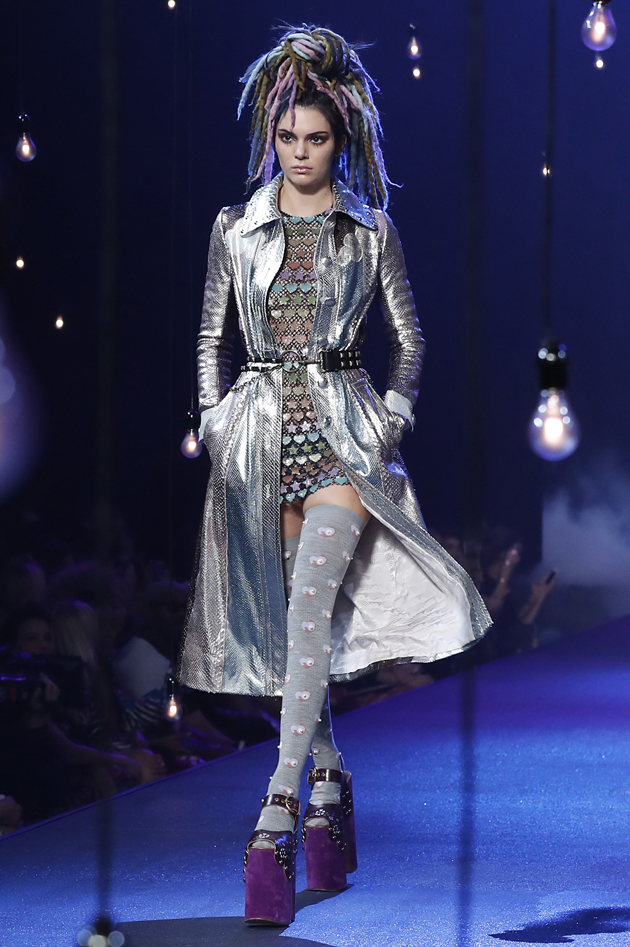 Kendall Jenner Marc Jacobs MBFWNY